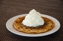 Rubbarb waffle